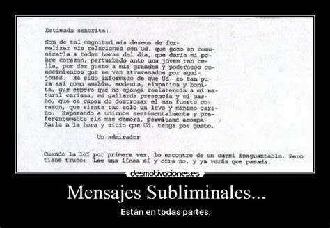 mensajes subliminales historia mensajes subliminales desmotivaciones