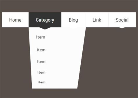 adding css3 multi level drop menu for css dropdown menu with 3d flipping animation css script