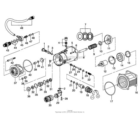pressure washer diagram briggs and stratton power products 9582 0 2 900 cp parts