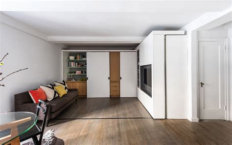 390 Square Feet | 390 square foot micro apartment with multifunctional