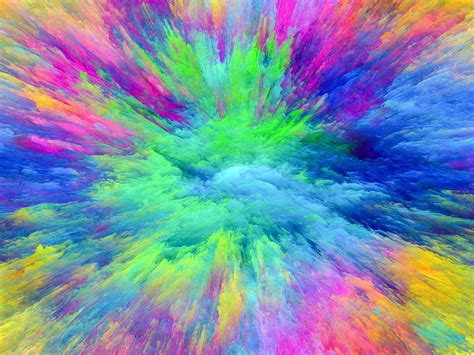 color image abstract colors wallpapers desktop phone tablet
