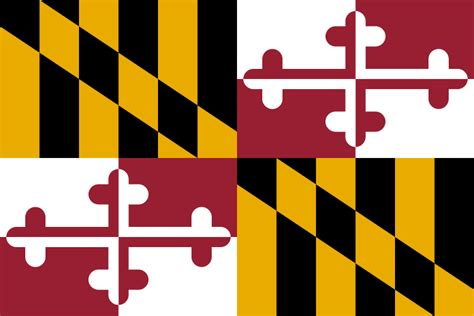 maryland state information symbols capital
