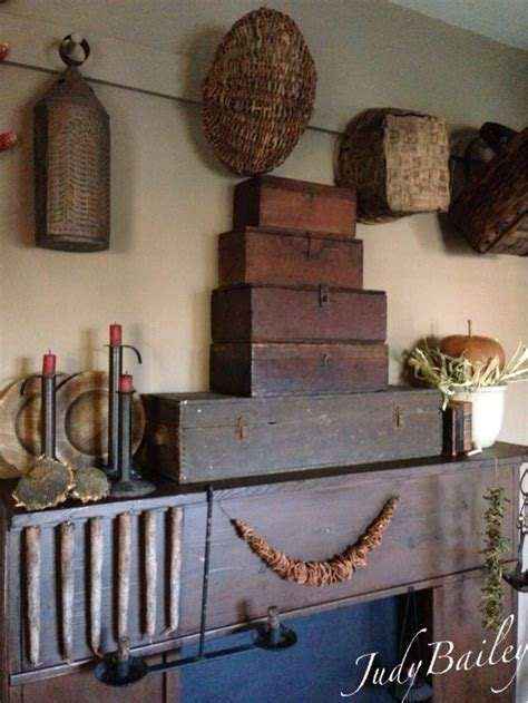 primitive fireplace decor 17 best images about primitive mantle ideas on