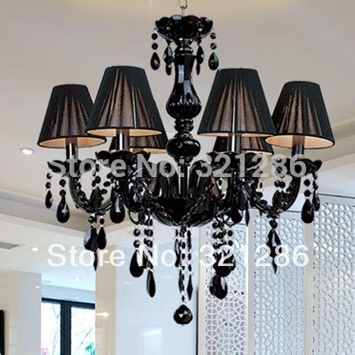 Dining Room Chandeliers With Shades by Modern Chandelier Brief Black Candle Chandelier