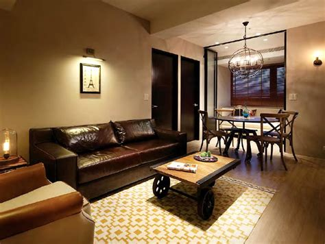modern rustic apartment  studio oj interiorzine
