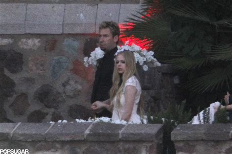 avril lavigne chad kroeger wedding popsugar autos weblog