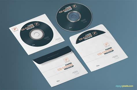 Wedding Album Mockup Psd Free by Free Paper Cd Cover Mockup Cd Mockup Psd Zippypixels
