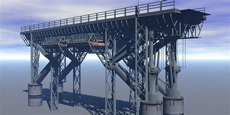 model sci fi bridge cgtrader
