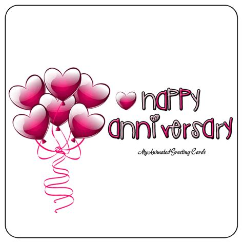 Happy Wedding Anniversary Animated Gif by Happy Anniversary