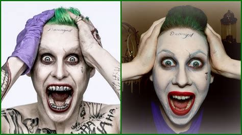 halloween makeup tutorials 2015 batman vs joker youtube the joker jared leto easy halloween makeup tutorial