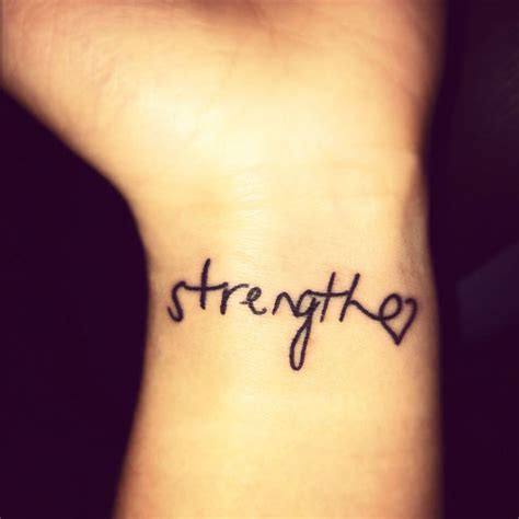 inspirational words for tattoos on wrist one word quotes for tattoos quotesgram