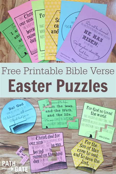 free printable bible jigsaw puzzles printable easter finger puzzle with bible verses perfect