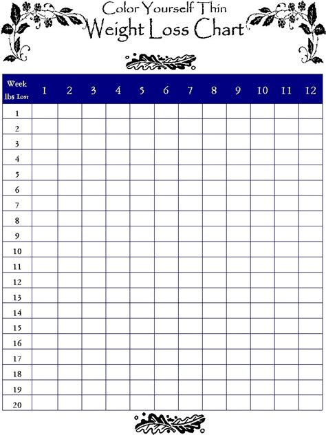 weight loss record template weight loss log pdf