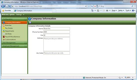 tutorial web based application web based payroll application free source code