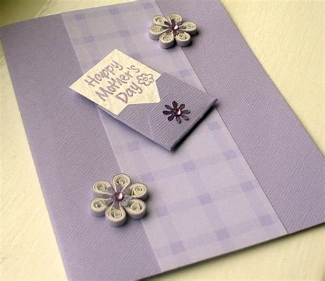 paper daisy cards quilled mother s day card paper daisy cards quilled mother s day card