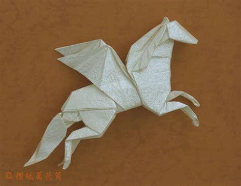 Origami Pegasus - pegasus origami
