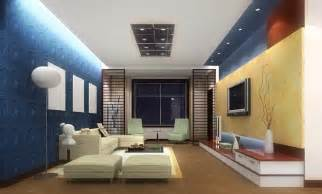 accent walls in blue decosee