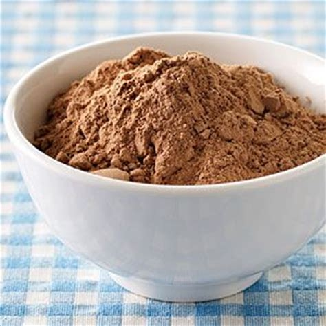 ask the expert how to substitute cocoa powder for