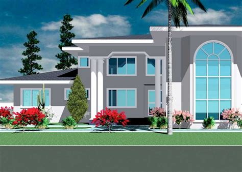 ghana house plan ghana house plan 5 bedroom home plan