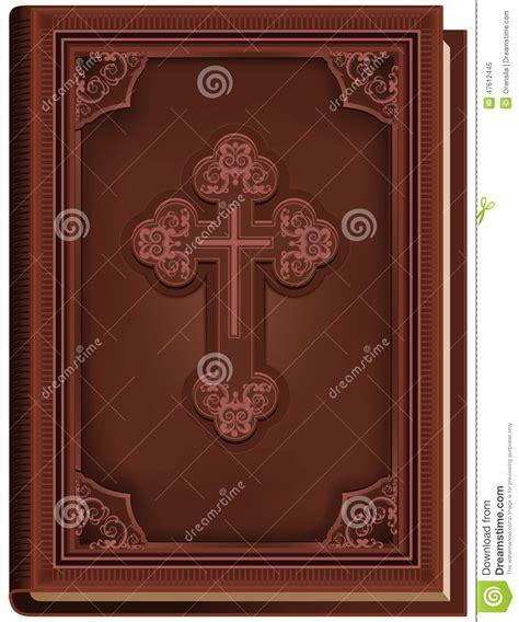 la bible livre ferm 233 avec une croix sur la couverture