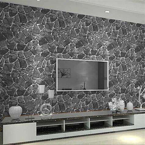 wandverkleidung stein wohnzimmer schiefer wandverkleidung wohnzimmer mit mosaik muster in