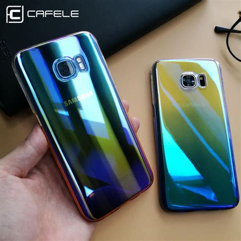 Gradient Blue Cover Samsung Galaxy S8 Plus Samsung S8 aliexpress buy cafele for samsung galaxy s8 s8 plus cases luxury gradient