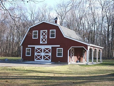 barn style homes custom barn  gambrel roof  wide
