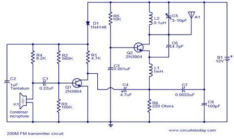 Fm Transmitter Circuit Diagram » Home Design 2017
