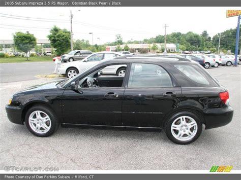 subaru 2 5 rs wagon 2005 subaru impreza 2 5 rs wagon in obsidian black pearl