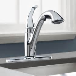 pulldown kitchen faucets peerless pull down kitchen faucet pull out or pull down