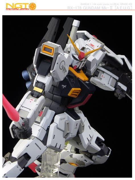 Rg 1 144 Gundam Mk Ii A E U G rg 1 144 gundam mk ii a e u g painted build patrickgrade