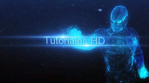 Intro Iron Man Holograma Plantilla Editable After Effects Hd Youtube Intros Templates