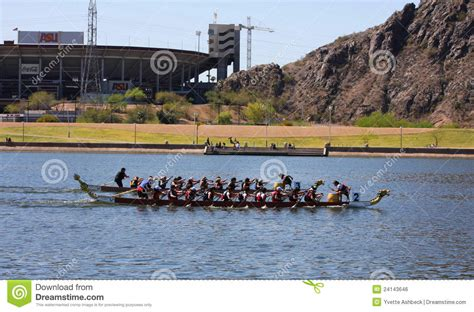 tow boat festival arizona dragon boat festival at tempe town lake editorial