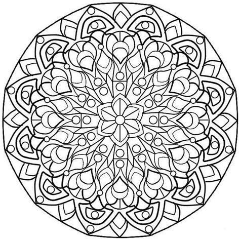 Pin By Katharina Nigliaccio On Color Me And Printables Complex Mandala Coloring Pages