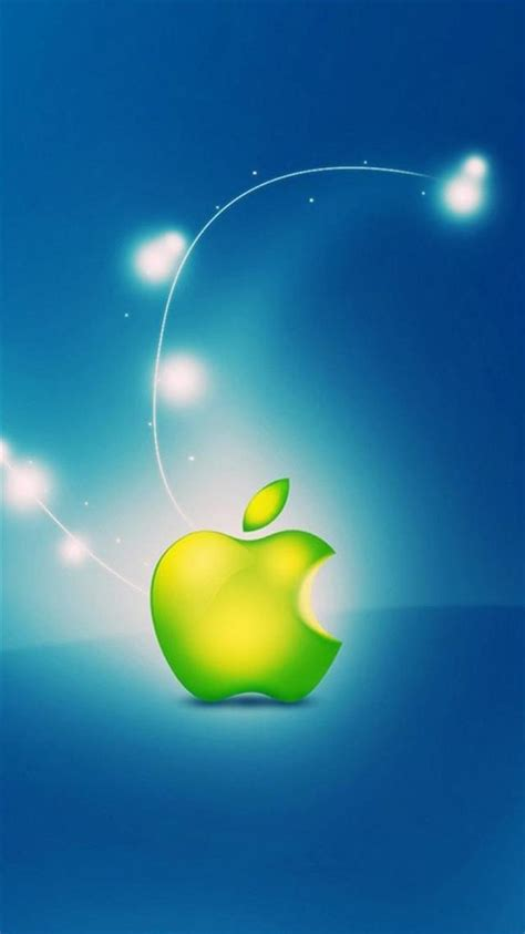 green apple iphone  wallpapers hd