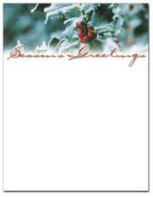 Christmas stationery printer paper beautiful christmas letterhead