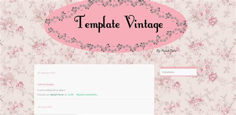 vintage templates for blogger free coisinhas de garotas template free de comemora 231 227 o