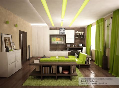 green white decor interior design ideas