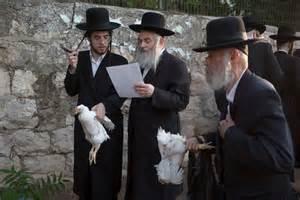 defiant jerusalem jews hold ritual chicken slaughter al