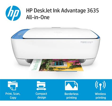 Printer Wireless Hp Deskjet Ink Advantage 3635 All In One hp deskjet ink advantage 3635 all in one printer buy hp