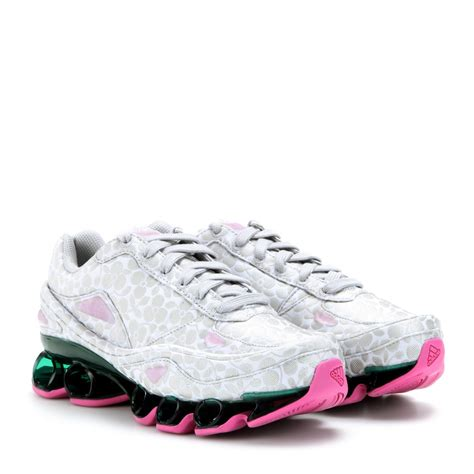adidas by raf simons bounce floraljacquard sneakers lyst