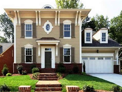 color schemes for house green exterior paint color schemes