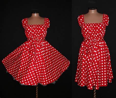 red and white polka dot swing dress red and white polka dot dress