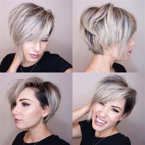 shaved hairstyles with long bangs best 25 undercut pixie haircut ideas on pinterest