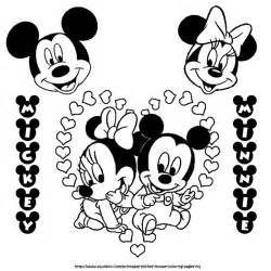 cartoon printable baby mickey mouse coloring pages coloring tone