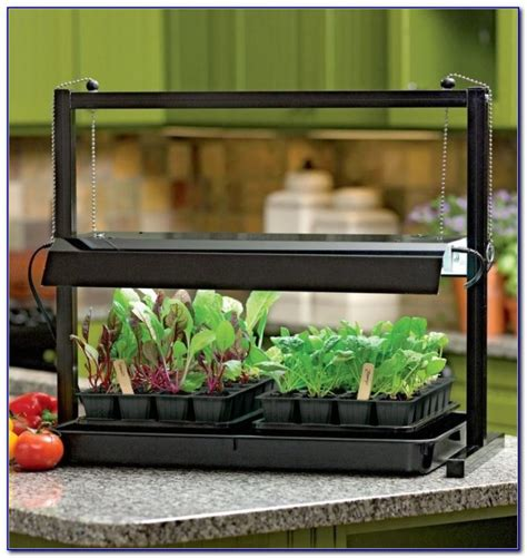 Table Top Grow Light Stand Tabletop Home Design Ideas