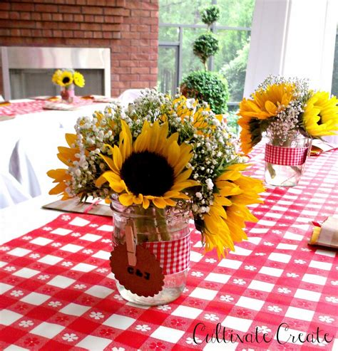Black And White Striped Vase Cultivate Create I Do Bbq Couples Shower