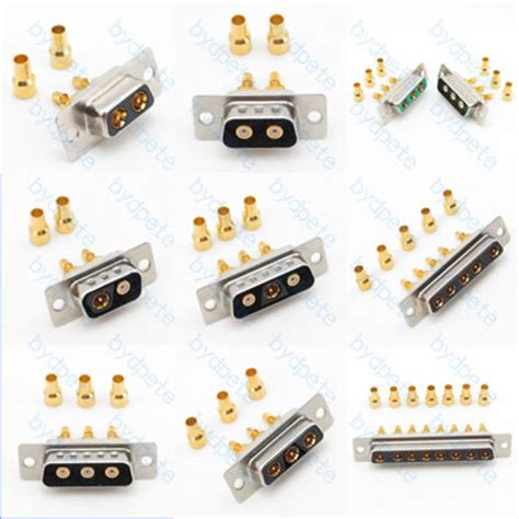 Tin Plate Sma Connector For Rg174 Cable d sub db pin signal connector gold plate for