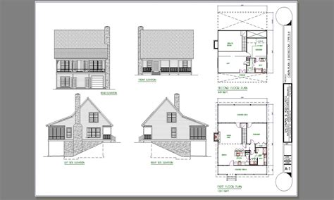 2 bedroom cottage floor plans 2 bedroom cabin plans 2 bedroom cottage house plans 4