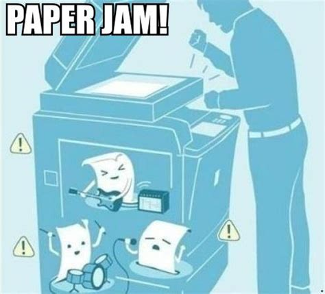 Copy Machine Meme - funny pictures paper jam